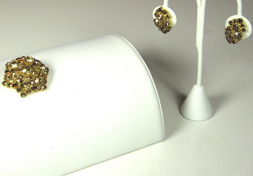 Austria Honey and Dark Amber RS Demi Parure