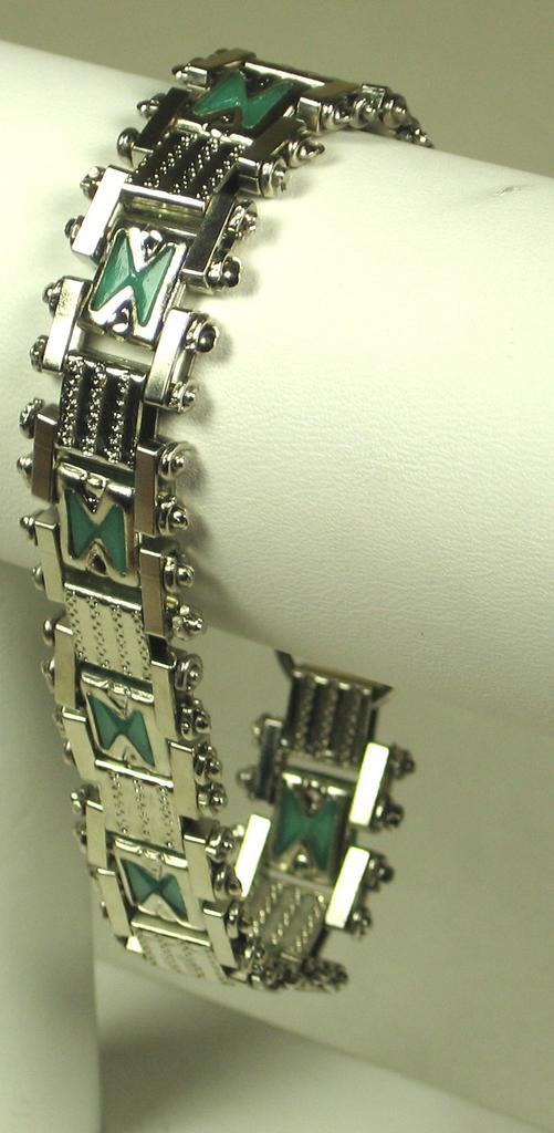 1930s-1940s Art Deco Jakob Bengel Bracelet