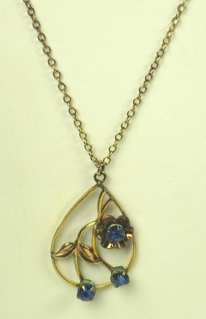 Vintage 1/20 12k Gold Filled Necklace by Automade