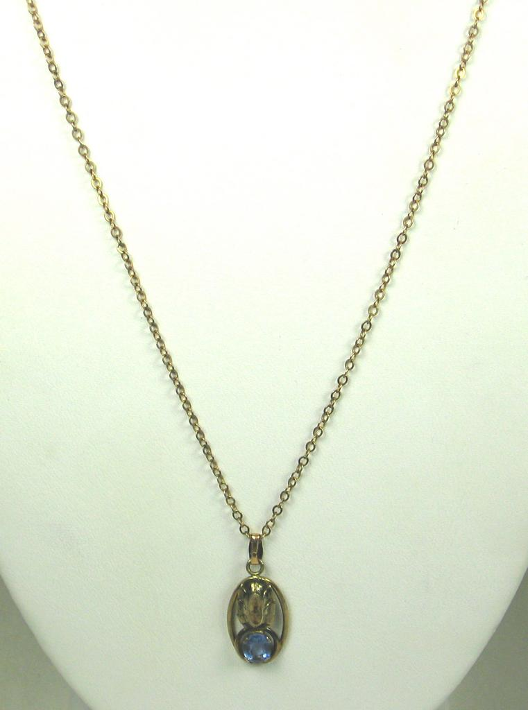 Vintage 1/20 12kt Gold Filled Sterling Necklace