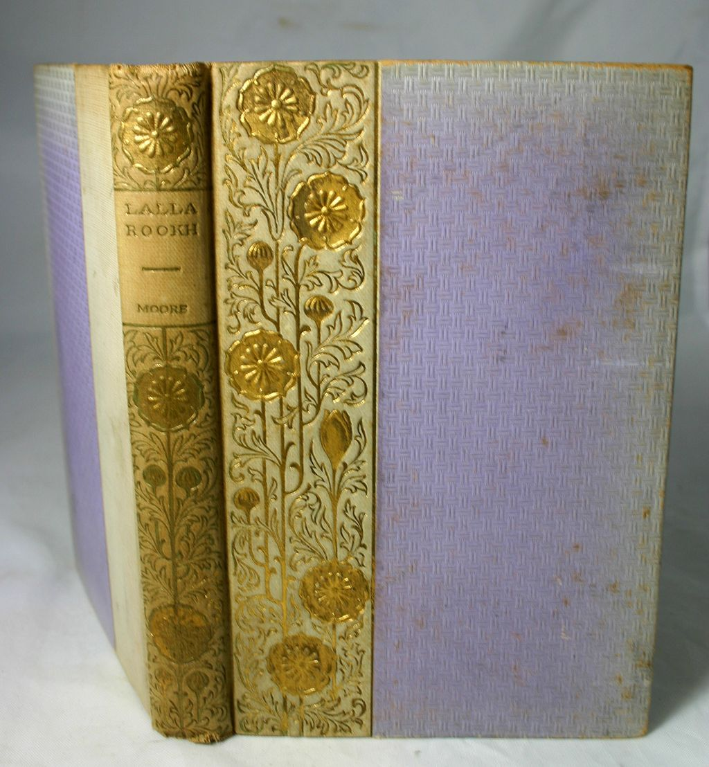 Lalla Rookh by Sir Thomas Moore with Pretty Binding