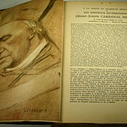 1927 The Life of Cardinal de Mercier with Many Autographs(French).