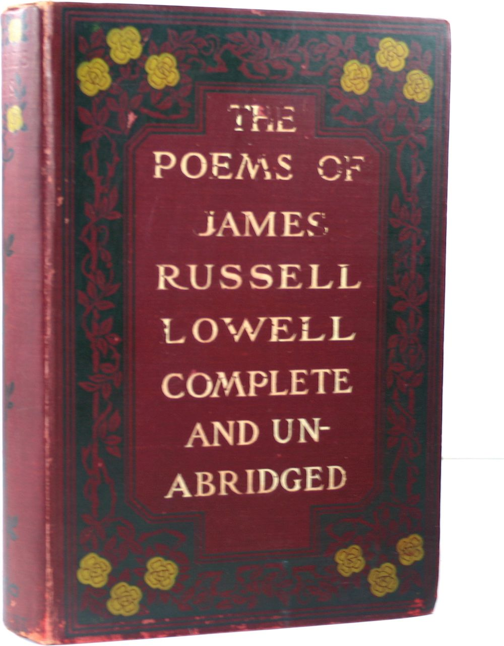 The Poems of James Russell Lowell Complete 1896