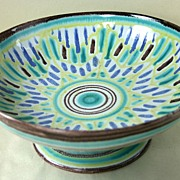 Mid Century Modern Schoonhoven Ceramic (Keramiek) Pottery Serving Dish