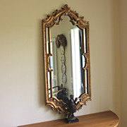 Stunning Vintage Gilt wood Ornate Mirror