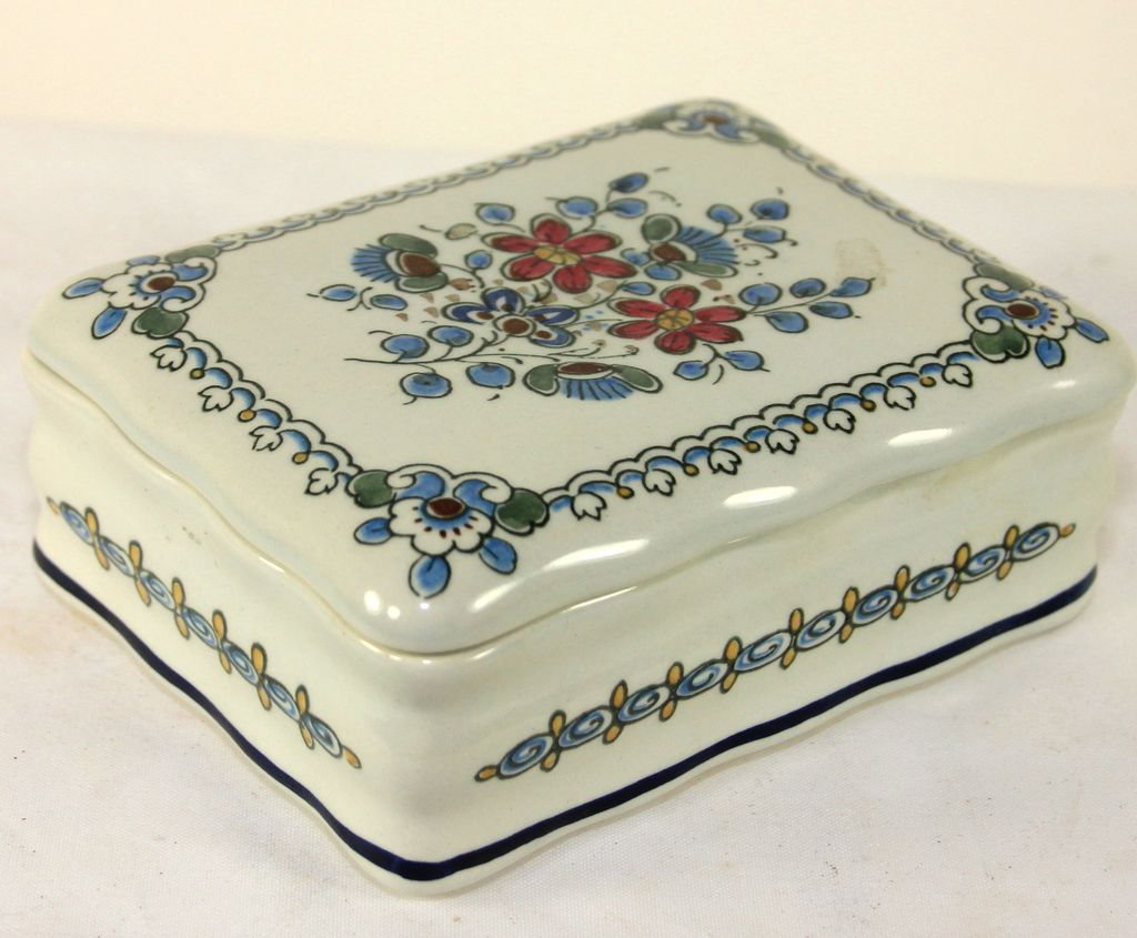 Original Delft Royal Goedewaagen Trinket/Dresser Box