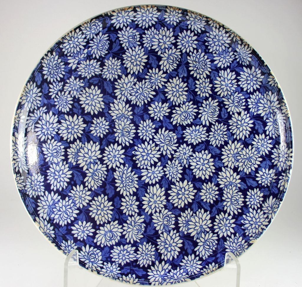 Early Waechtersbach SteinGut Keramik, Royal Blue Ceramic Platter
