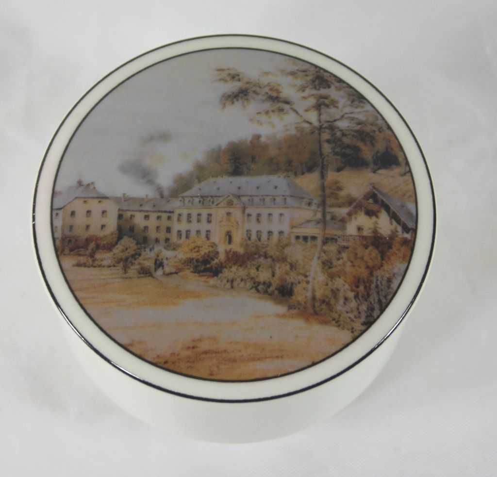 Villeroy & Boch Trinket Box Commemorating 250 Years