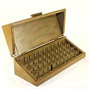 Unusual vintage Chinese silk spool box