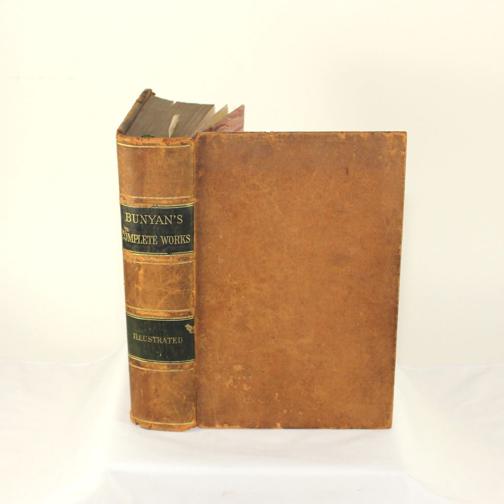 1872 John Bunyans complete works, Illustrated