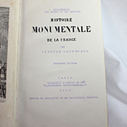Histoire Monumentale de la France, Anthyme Saint-Paul, 1884