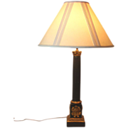 Gorgeous vintage Neo classical column lamp