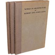 The Works in Architecture of Robert & James Adam, Tiranti Edition, 1931