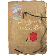 La Gazette du Vieux Paris, 1900, Albert Robida