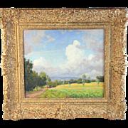 Landscape Oil Painting by Dutch Listed Artist Carel Lodewijk Dake II (1885-1946)
