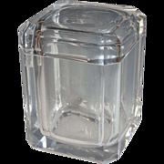 Vintage Karl Springer Style Lucite Ice Bucket