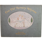 1911 Our Old Nursery Rhymes Alfred Moffat, Illustrated by Willebeek Le Mair