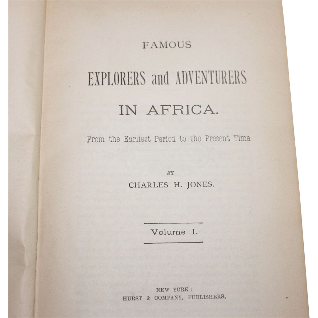 famous explorers of africa General exploration of northern & north eastern africa (1823 – 1824) extensively mapped out what would become northern nigeria (1823) one of the first westerners to see and chart lake chad.