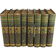 The Works of George Eliot 8 Volumes, Fine Bindings
