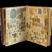 Antique Manuscript of Monograms in Alphabetical Order