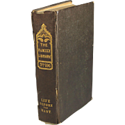 Two Years Before The Mast, a Personal Narrative Of Life At Sea.  Dana, Richard Henry, Jr. 1840 First edition 2nd Issue