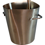 French Mid Century Modern Champagne / Wine Bucket, Cooler, Remi Inox