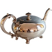 Antique Reed & Barton Quadruple Silverplated Tea Pot Silver plate Tea pot