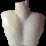 Interesting Stone Sculpture of a Torso /Display (2)