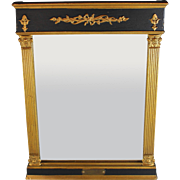 Antique Empire Tabernacle Mirror