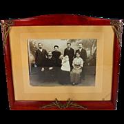 Art Nouveau Picture Frame with Photo