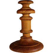 Antique Wood Wooden Hat Stand, Unusual Shape