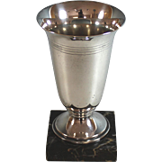 Vintage Silverplate Trophy Cup No Engraving Silver Plate