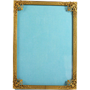 French Bronze Picture/photo frame with Easel Back 19th C