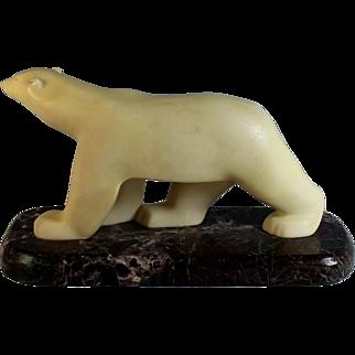 Polar Bear by Francois Pompon Museum of Modern Art Reproduction