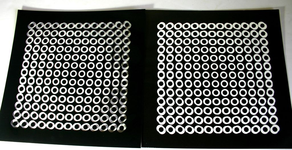 Victor Vasarely Profound Works 8 Sets of Optical Illusion Pop Art
