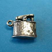 Vintage Sterling Silver  Lighter Charm