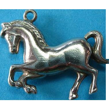 Vintage Sterling Italian Lipizzan Horse Charm