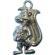 Vintage Sterling Silver Pepe Le Pew- Warner Brother's Charm