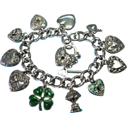 All Walter Lampl Charms & Victorian Sterling Charm Bracelet