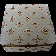 Murano Opaline Glass Box Cenedese Vetri