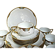 Arts and Crafts Rosenthal Luncheon/ Dessert Set 18 Pcs.