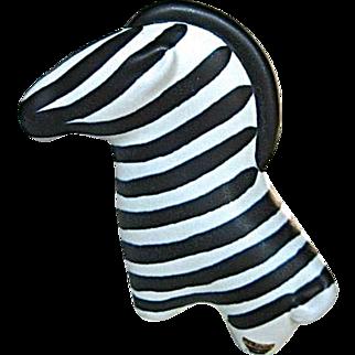 Arabia Zebra Finland Porcelain Figurine