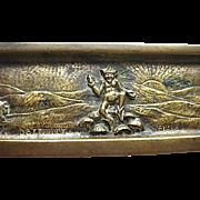 Bronze Dartmoor Pixie Pin Tray England