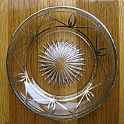 Heisey Sterling Silver Overlay Plates