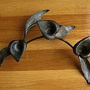 Bronze Calla Lilly Candelabrum