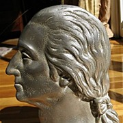 George Washington Nickel Plated Bookend/Doorstop