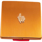 Vintage Yardley Compact With Flowerseller Logo