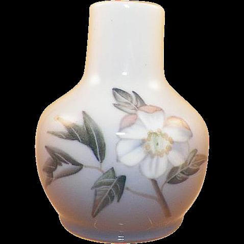 Vintage Royal Copenhagen Apple Blossom Mini Vase