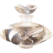 Vintage Lalique Samoa Perfume Bottle Retired