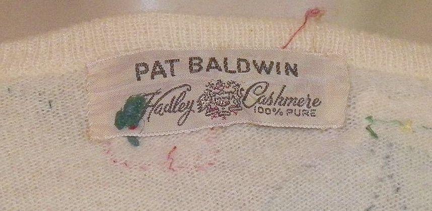 Vintage Pat Baldwin Sweater 103